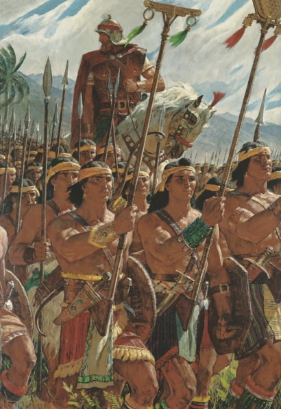 Two Thousand Young Warriors (Two Thousand Stripling Warriors), by Arnold Friberg, Image Credit: LDS.org