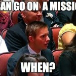 I Want to Have Been a Missionary… Then