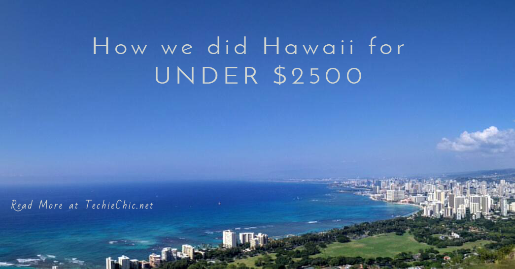 Doing Hawaii Affordably
