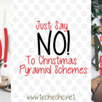 Just Say NO! to Christmas Pyramid Schemes